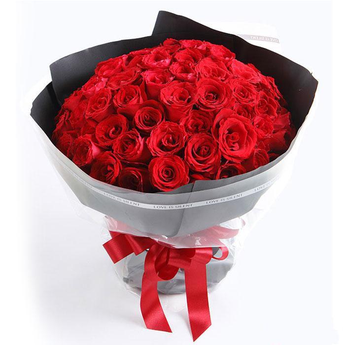 恋你一生_66枝精品红玫瑰