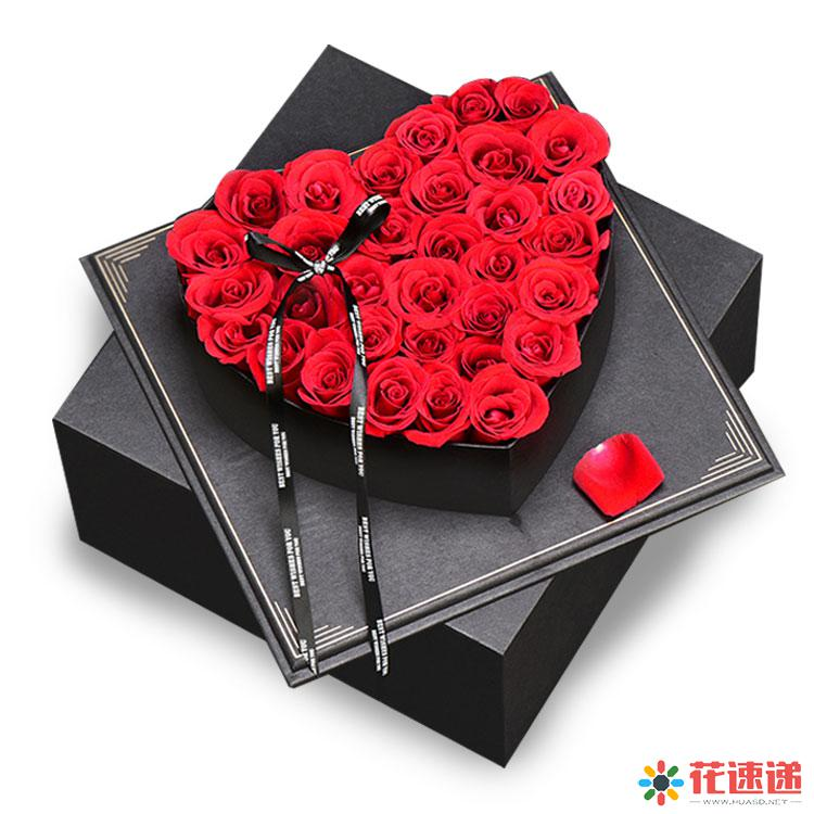 爱情时光_33枝精品红玫瑰